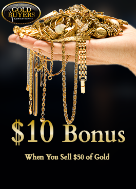 $10 Bonus - When You Sell $50 of Gold Jewelry in St. Ann, MO