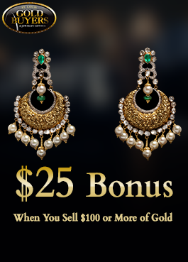 $25 Bonus - When You Sell $100 of Gold Jewelry in St. Ann, MO or More